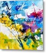 Watercolor 114052 Metal Print
