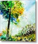 Watercolor 114062 Metal Print