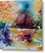 Watercolor 140908 Metal Print