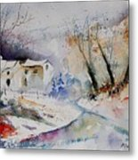 Watercolor 15823 Metal Print