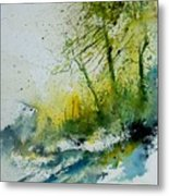 Watercolor 181207 Metal Print