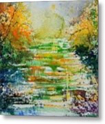 Watercolor  230507 Metal Print