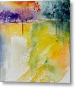 Watercolor  241008 Metal Print