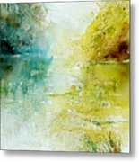 Watercolor 24465 Metal Print