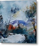 Watercolor 802120 Metal Print