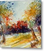 Watercolor 902010 Metal Print