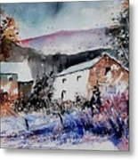 Watercolor 902080 Metal Print