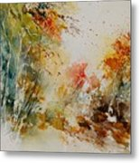 Watercolor 905022 Metal Print