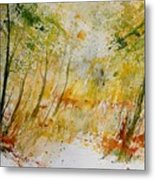 Watercolor  908012 Metal Print