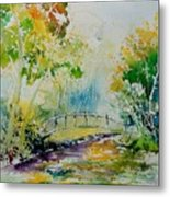 Watercolor  908020 Metal Print