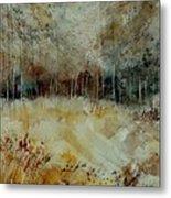 Watercolor 9090722 Metal Print