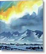 Watercolor3987 Metal Print