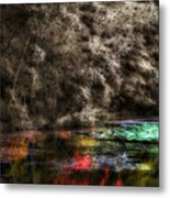Watercolors Metal Print
