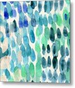 Waterfall 2- Abstract Art By Linda Woods Metal Print
