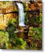 Waterfall Beauty Metal Print
