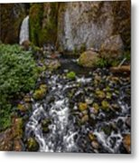 Waterfall Chillin'  Metal Print