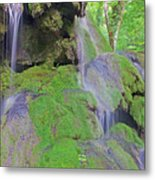 Waterfall Details Metal Print