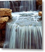 Waterfall Metal Print by Elena Elisseeva