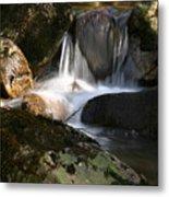 Waterfall Glenveagh National Park Metal Print
