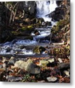 Waterfall In Kent Metal Print
