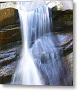 Waterfall In Nh Metal Print