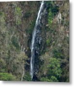 Waterfall In The Intag 3 Metal Print