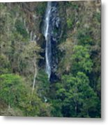 Waterfall In The Intag 6 Metal Print