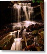 Waterfall Mcconnells Mills State Park Metal Print