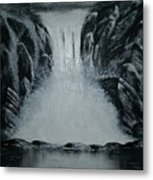 Waterfall Of Life Metal Print