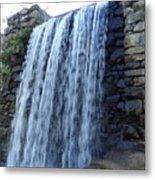 Waterfall Of The Grist Mill Metal Print