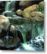 Waterfall On Maui Metal Print