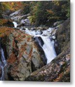 Waterfall On West Fork French Broad River Metal Print