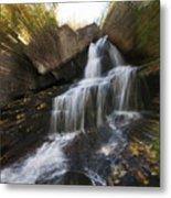 Maine Waterfall Metal Print