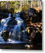 Waterfall, Whitewall Brook Metal Print