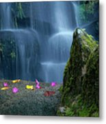Waterfall02 Metal Print