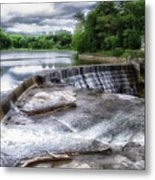Waterfalls Cornell University Ithaca New York 07 Metal Print