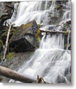 Waterfalls Of Lost Creek Metal Print by Dana Moyer