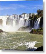 Waterfalls Wall Metal Print
