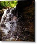 waterfallScoop Metal Print