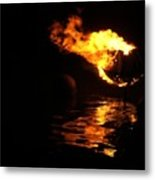 Waterfire 2007-1 Metal Print