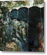 Waterfountain In Charleston Park Metal Print