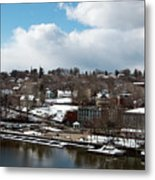Waterfront After The Storm Metal Print