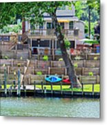 Waterfront Landscaping Metal Print