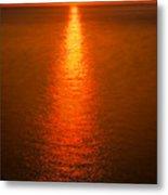 Waterfront Sunrise Metal Print