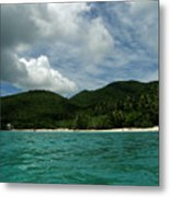 Waterfront View Metal Print
