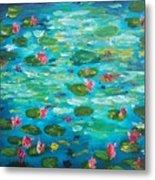 Waterlillies Metal Print
