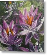 Waterlilly Metal Print