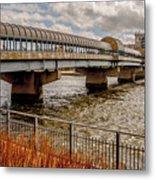 Waterloo Iowa Bridge Metal Print