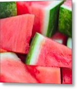 Watermelon 6673 Metal Print