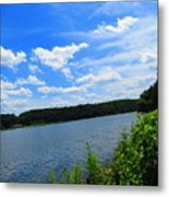 Water's Touch Metal Print